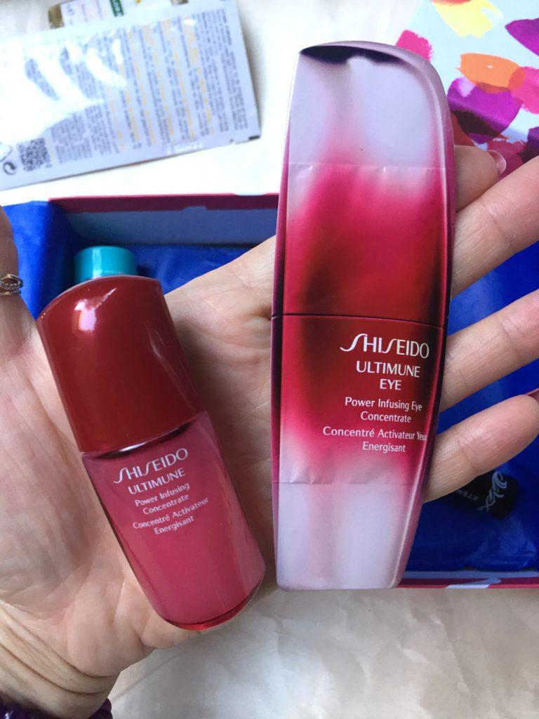 duet Shiseido do twarzy i okolic oczu