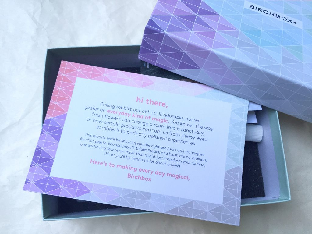 Everyday Magic Birchbox