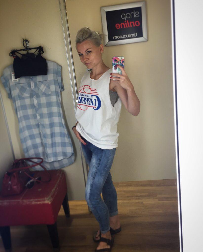 selfie tj maxx
