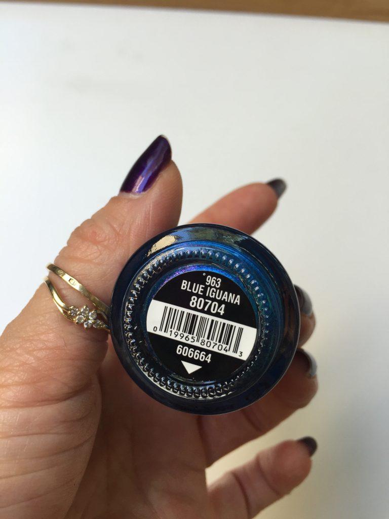 963 Blue Iguana