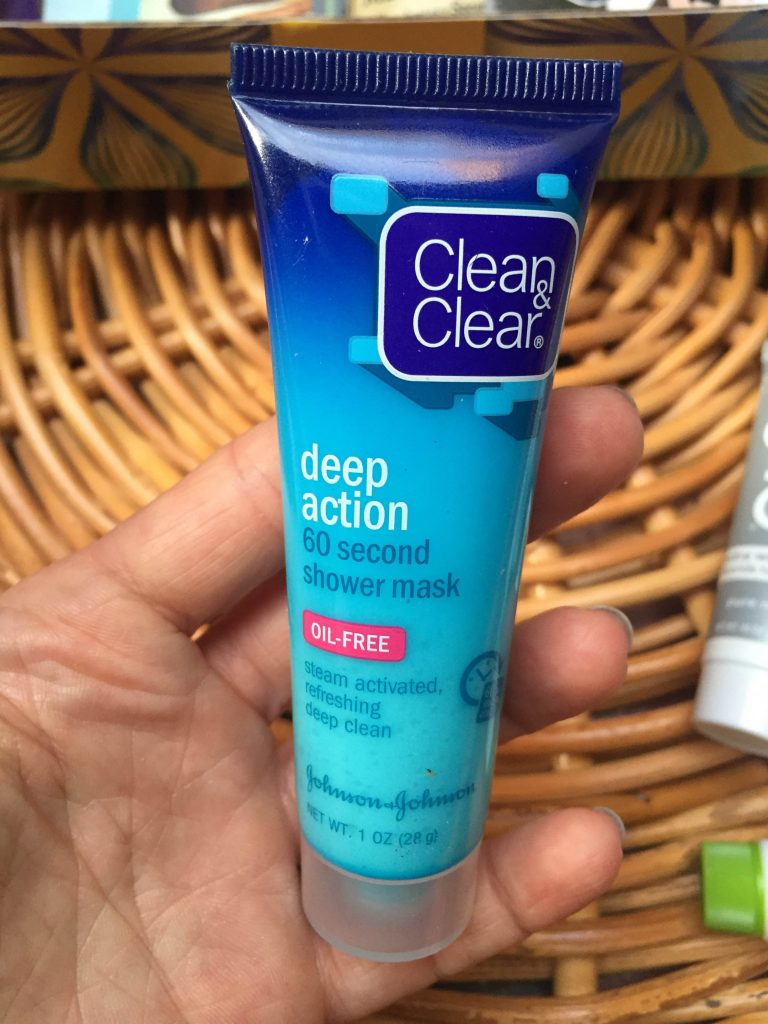 minutowa maseczka do twarzy Clean & Clear