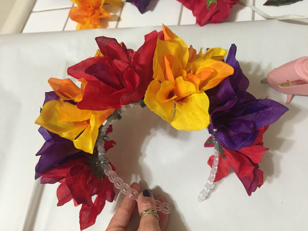 la catrina DIY headband