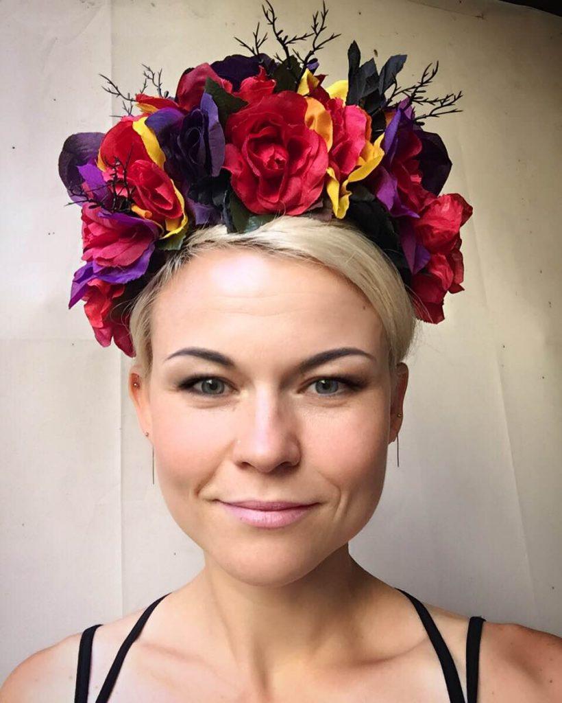 La Catrina headpiece