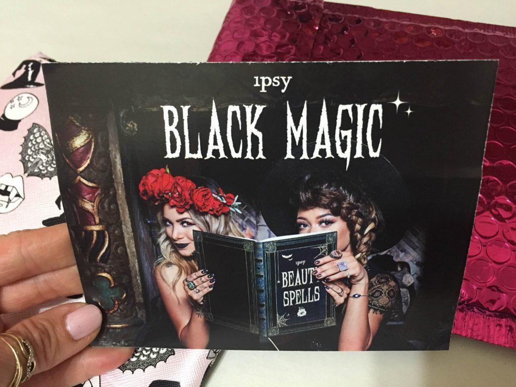 Black Magic Ipsy October 2016