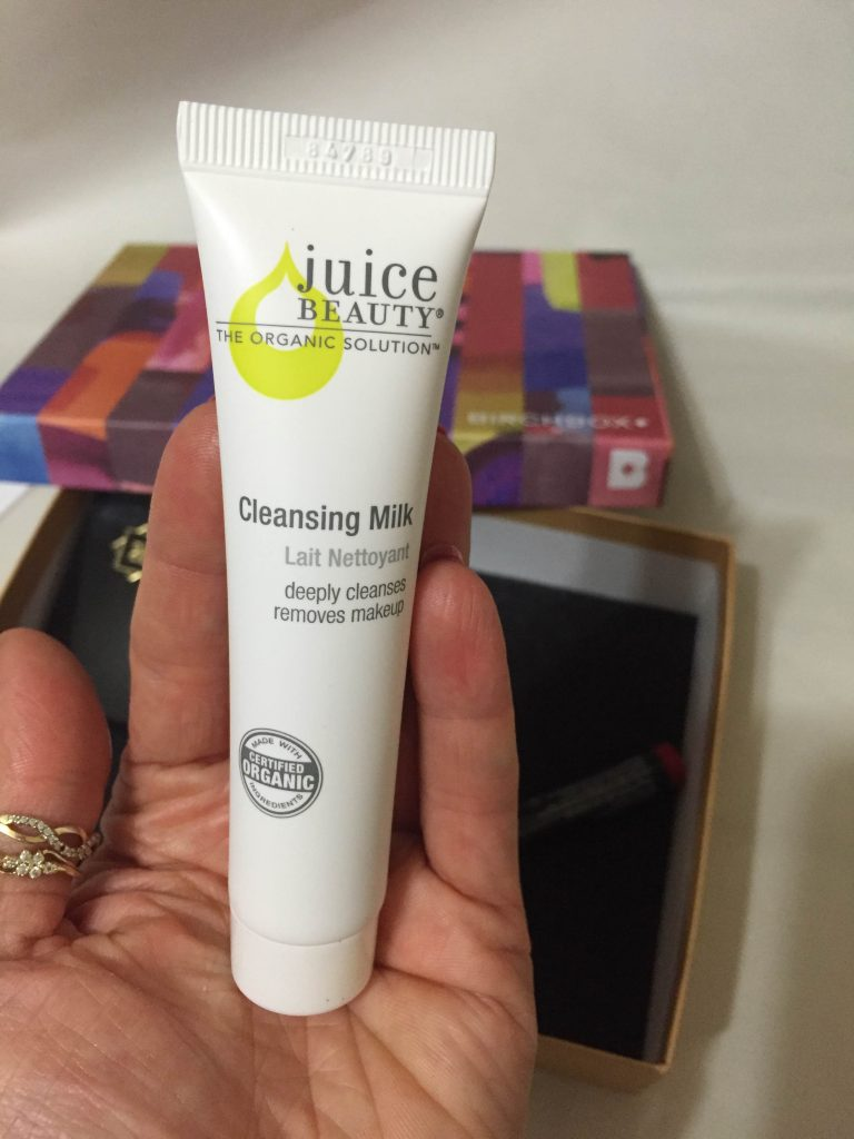 mleczko oczyszczające do twarzy Juice Beauty