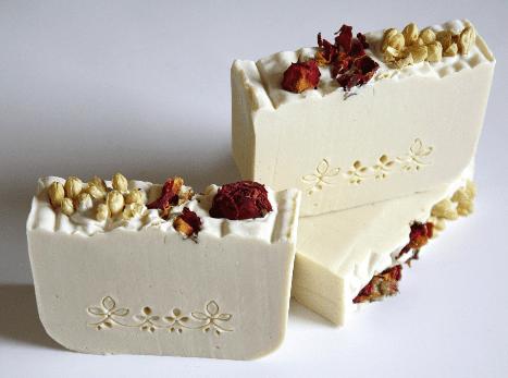 różano-jaśminowe mydło