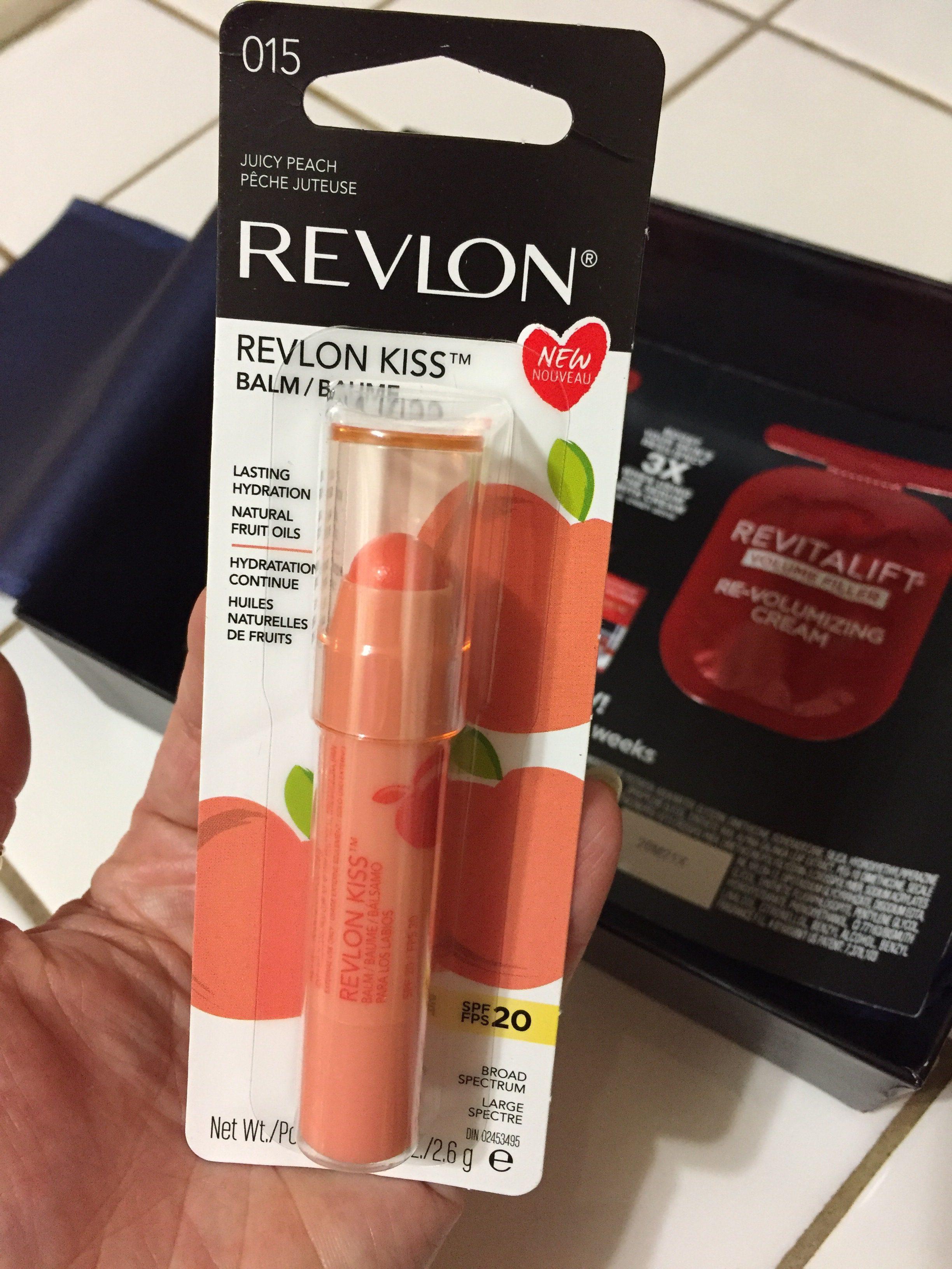 brzoskwiniowy balsam do ust Revlon