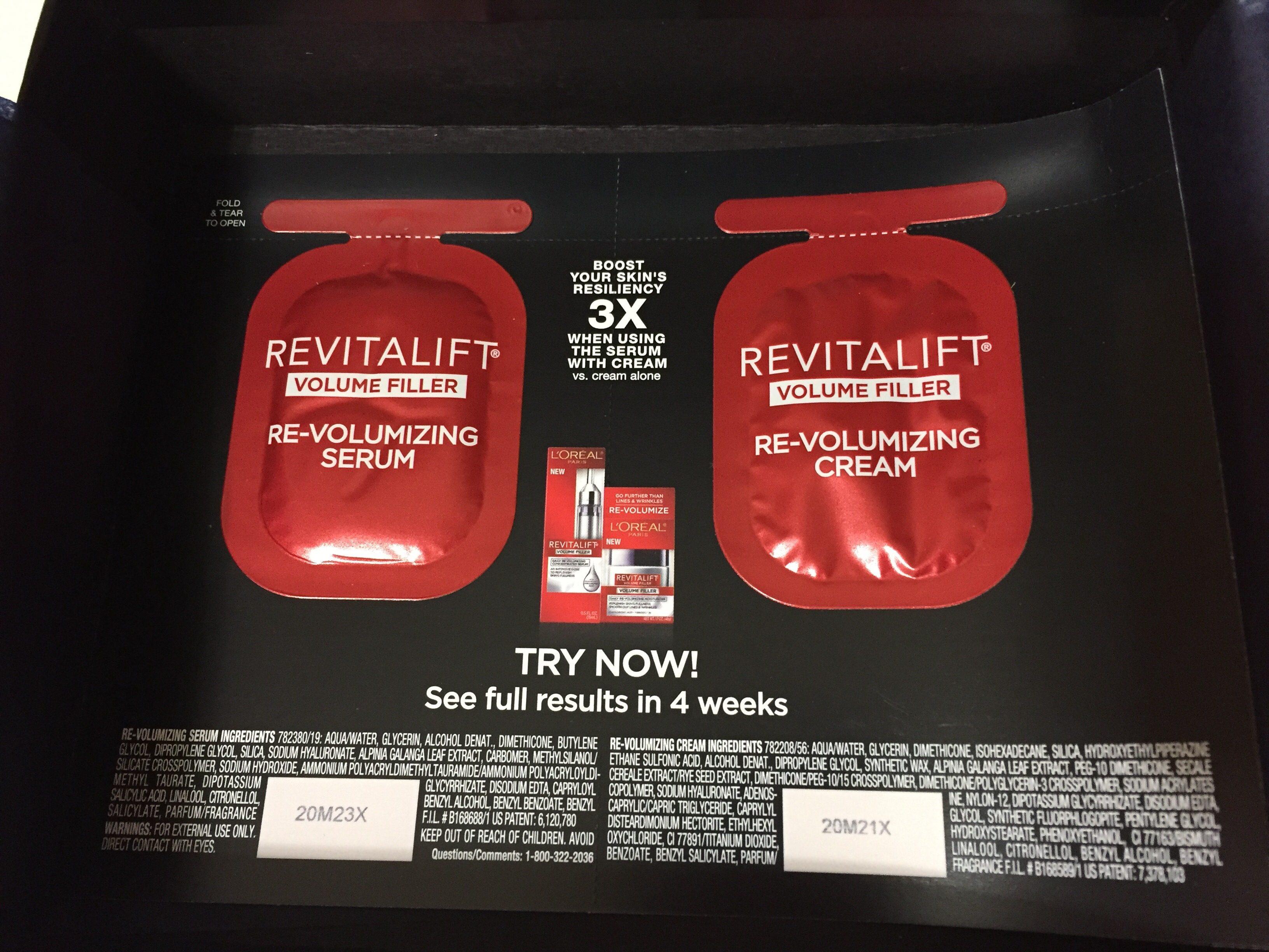 krem i serum L'Oreal Revitalift
